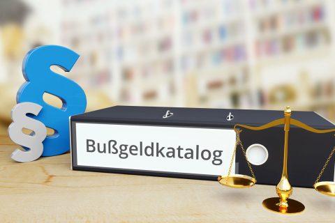 Änderungen im Bußgeldkatalog ab dem 28.April 2020